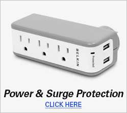 Power & Surge Protection
